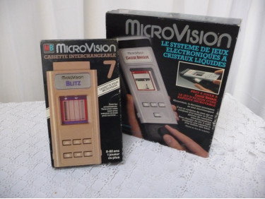Console Microvision LCD