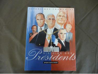 Livres l'histoire des présidents de FRANCE