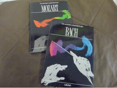 Livres BACH et MOZART