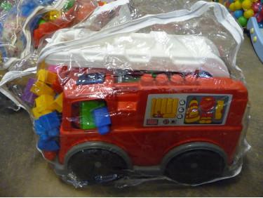 Camion de pompier mega bloks