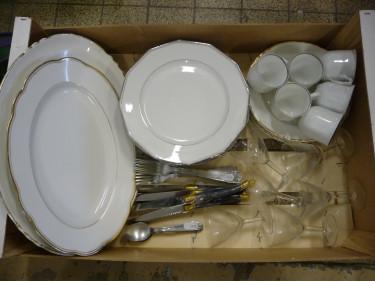 Lot de vaisselles 6 pers C