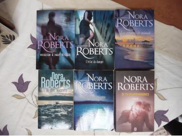 lot de livre Nora Roberts