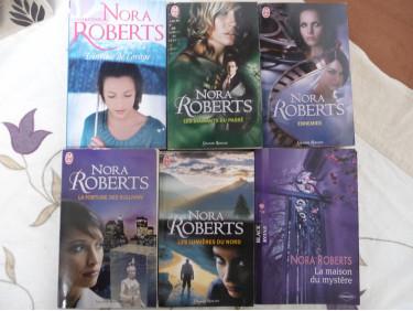 Lot de livres Nora Roberts 2